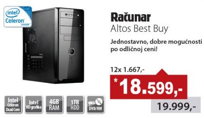 Računar Altos Best Bay