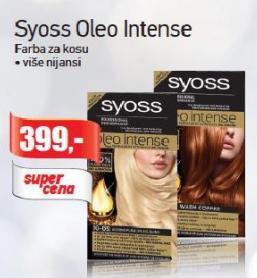 Farba za kosu Oleo Intense