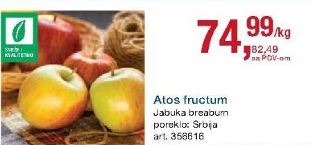 Jabuka Atos fructum