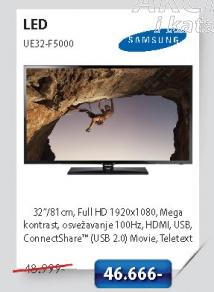 LED Televizor UE32-F5000