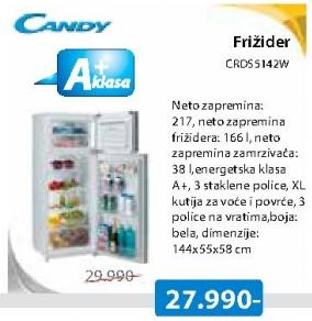 Frižider Kombinovani CRDS5142W