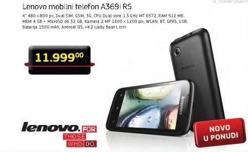 Mobilni telefon A369i Rs