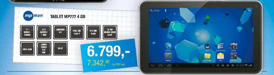 MP777 4GB tablet