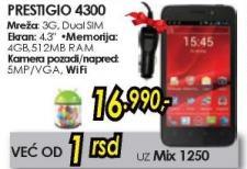 Mobilni telefon MultiPhone 4300 Duo