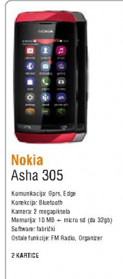 Telefon mobilni Asha 305