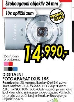 Digitalni fotoaparat Ixus 155