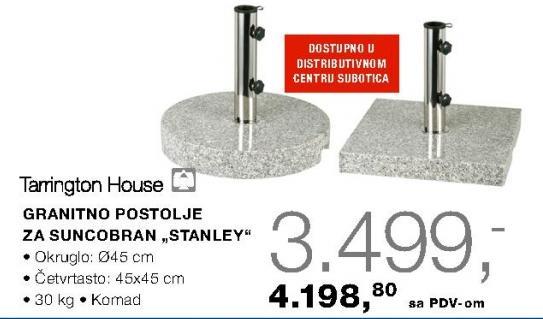 Granitno Postolje Za Suncobran Stanley