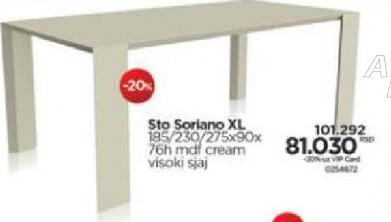 Sto Soriano XL