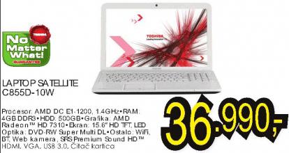 Laptop Satellite C855D-10W