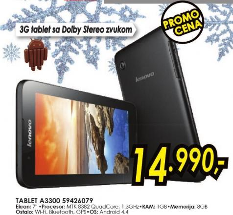Tablet A3300 59426079