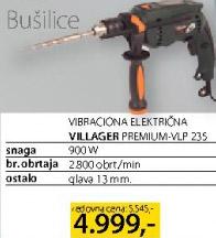 Vibraciona električna bušilica Premium Vlp235