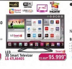 Televizor LED LCD 47LA640S