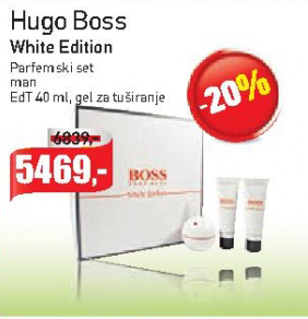 White Edition parfemski set za muškarce