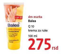 Krema za ruke Q10