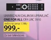Univerzalni daljinski upravljač URC 3910