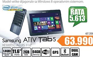 "ATIV Tab 5 XE500T1C-A01RS 11.6"""