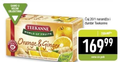 Čaj narandža i đumbir