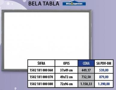 Bela tabla