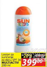 Losion za sunčanje za decu SPF36