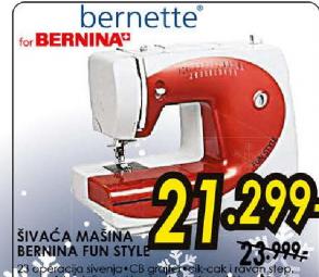 Mašina za šivenje Bernina Fun Style
