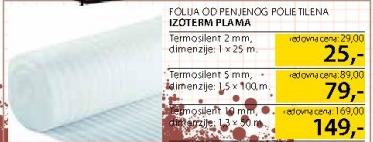 Folija Izoterm Plama 10mm