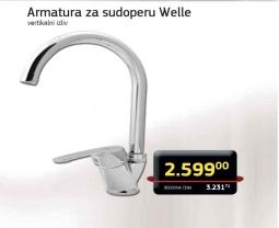 Armatura za sudoperu Welle