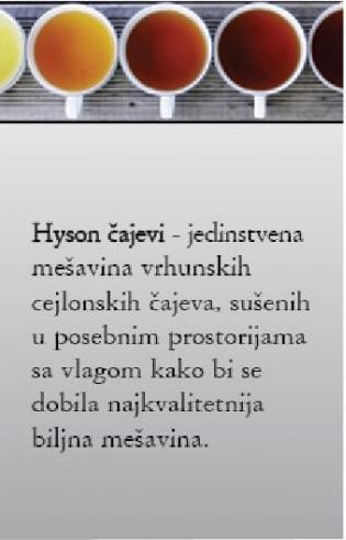 Hyson čajevi