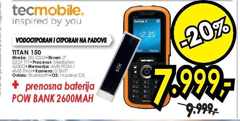 Mobilni Telefon Titan 150