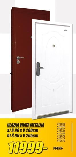Ulazna vrata Metalna