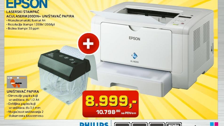 Laserski štampač  AL-M200DN