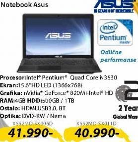 Laptop X552MD-SX006D