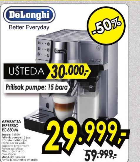 Aparat za espresso EC 850 M