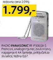 Radio Rf-P50eg9-s