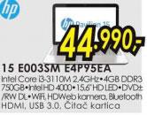 Laptop Pavilion 15-E003SM E4P95EA