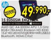 Laptop Pavilion 15-E050SM E4Q18EA