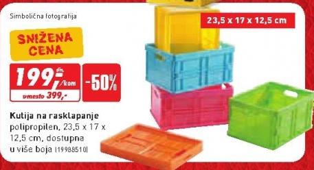 Kutija za rasklapanje