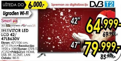 """Televizor LED 47"""" 47lb630v"""