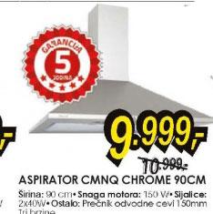 Aspirator CMNQ CHROME 90CM
