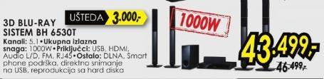 3D Blu-Ray sistem Bh 4530t