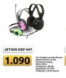 Slušalice sa mikrofonom Jetion JT-DEP047