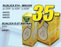 Sijalica E14 Minjon