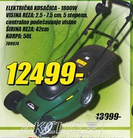 Električna kosačica 1800W