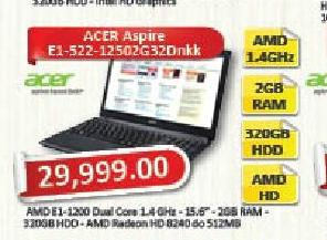 Laptop računar Aspire E1-522-12502G32Dnkk