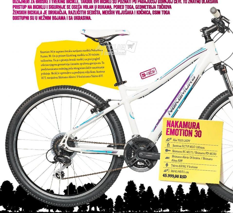 Ženski Brdski Bicikl Emotion 30