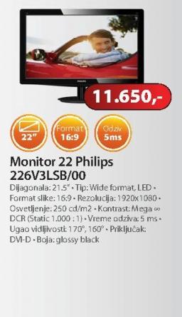 Monitor 226V3LSB/00