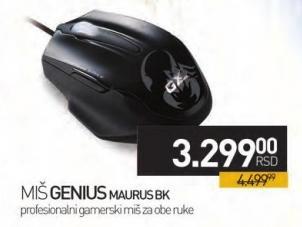 Miš Maurus Bk