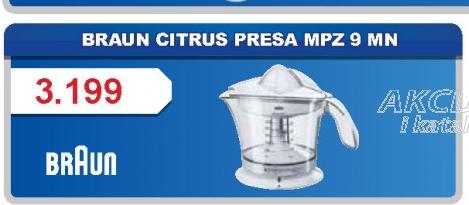 Citrus presa MPZ 9 MN