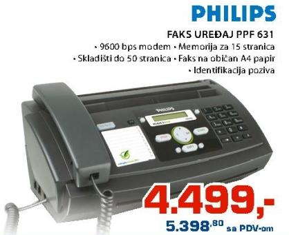 Faks uređaj Ppf 631