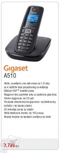 Telefon Gigaset A510