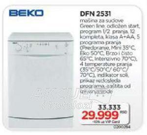 Mašina za pranje sudova Dfn 2531